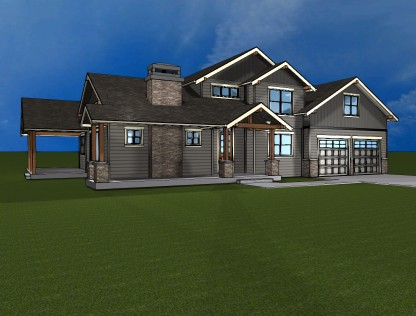 Whatcom county custom home