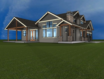 Whatcom County custom home
