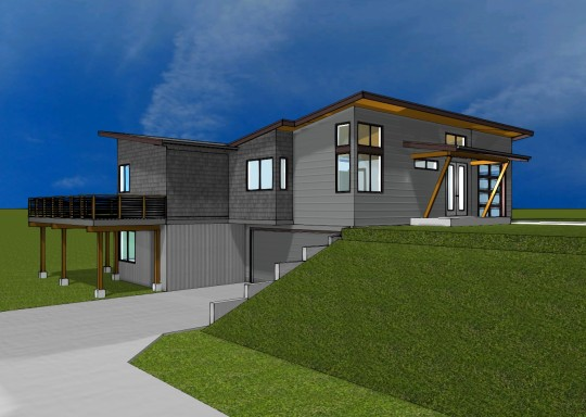 35th Street proposed residence
